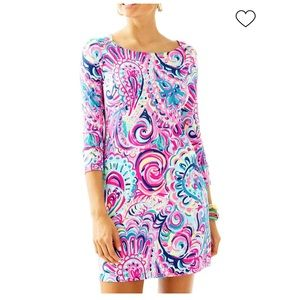 Lilly Pulitzer Pink Blue Paisley Sophie Dress